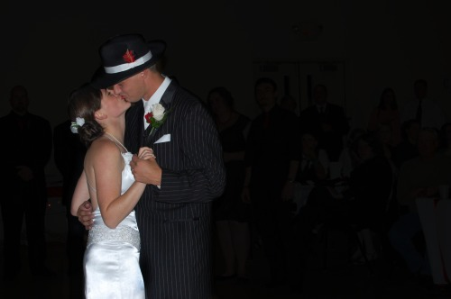 First dance as man and wife.